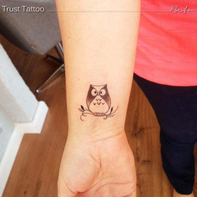 Tattoo No Pulso Foto 10022 Mundo Das Tatuagens