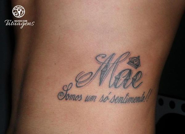 Homenagens às Mães Mundo Das Tatuagens