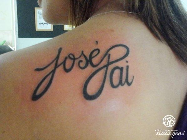 Homenagem Ao Pai Falecido Foto 5147 Mundo Das Tatuagens